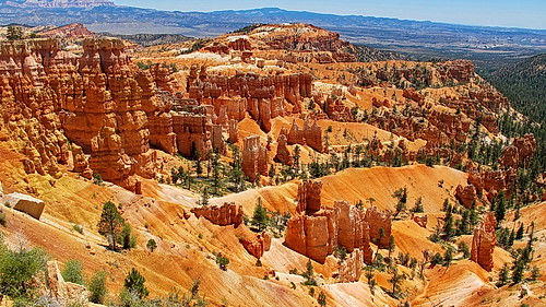 Sunrise Point view -  Rim - Bryce Canyon National Park
