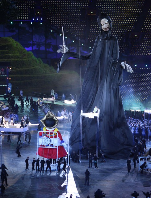 Lord Voldemort at the London Olympic Opening Ceremony ...