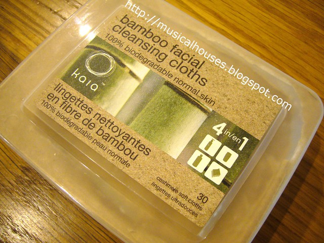 bamboo cleansing facial cloths