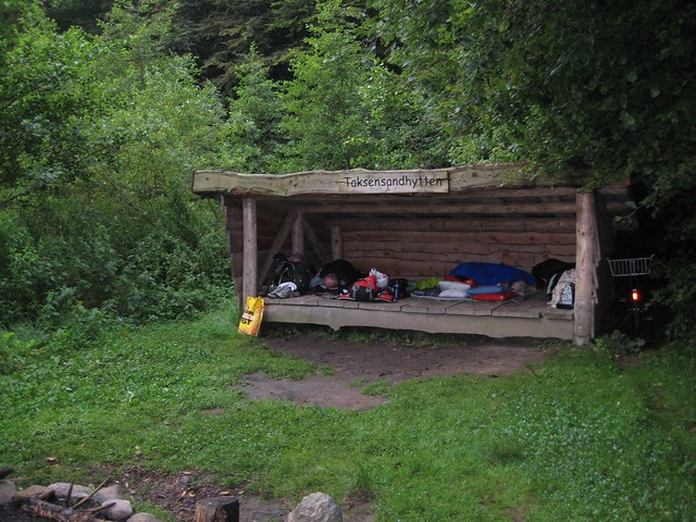 Shelter in Nørreskoven