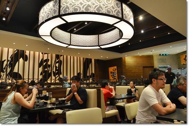 Hokkaido Santouka Ramen Dining Ambience