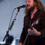 Yim Yames (Jim James), Jay Farrar, Anders Parker. Photo by Laura Fedele