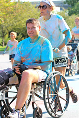 endurance sports(0.0), vehicle(0.0), cycle sport(0.0), cycling(0.0), bicycle(0.0), wheelchair(1.0), wheelchair sports(1.0), wheelchair racing(1.0), athlete(1.0),