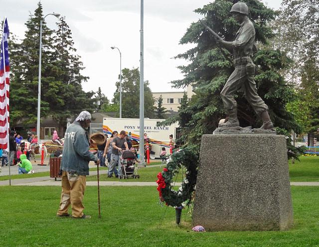 military-statue