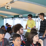 High school students become hydraulic engineers for a day at Savannah Harbor