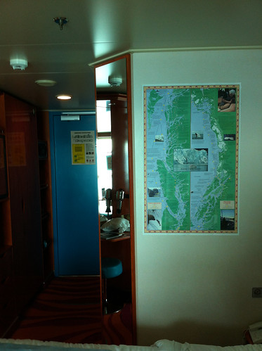 Norwegian Pearl Cabin - Map Up