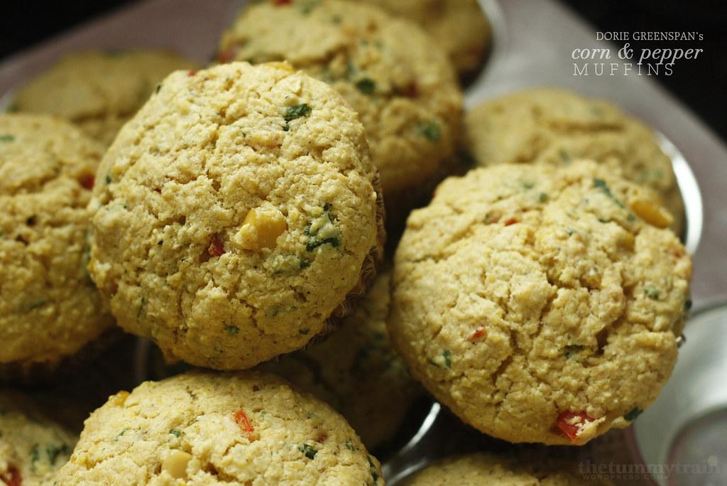 Corn & Pepper Corn Muffins