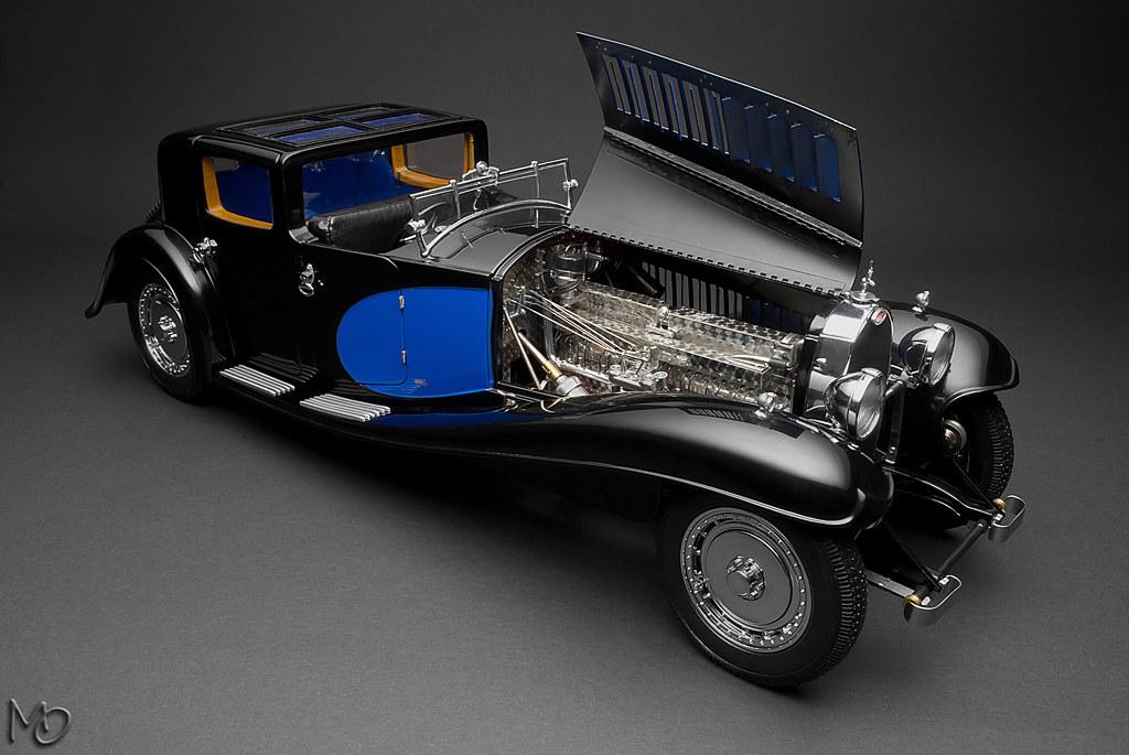 1 18 bauer bugatti type 41 royale 39 coup napol on 39 dx classic vintage. Black Bedroom Furniture Sets. Home Design Ideas