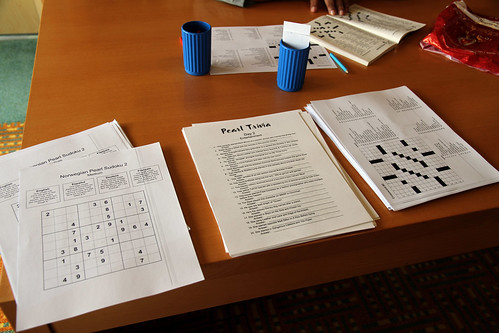 Norwegian Pearl - Library Trivia, Sudoku, Crossword