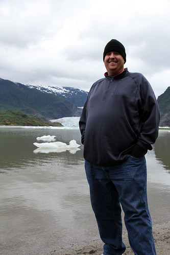 Juneau - Mike at Mendenhall