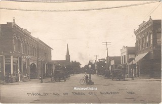 Main St from 3rd ca 1920 PC