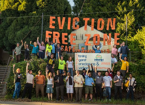 Eviction Free Zone Community Meeting with SAFE in           Seattle