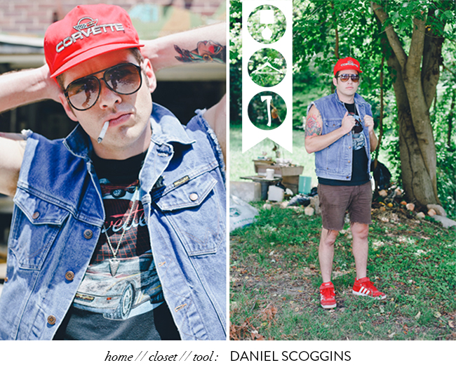 Daniel Scoggins Cousin Dan Atlanta musician Glass and Sable Home Closet Tool