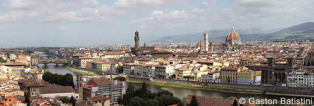 Skyline  from Firenze, Toscana, Italia
