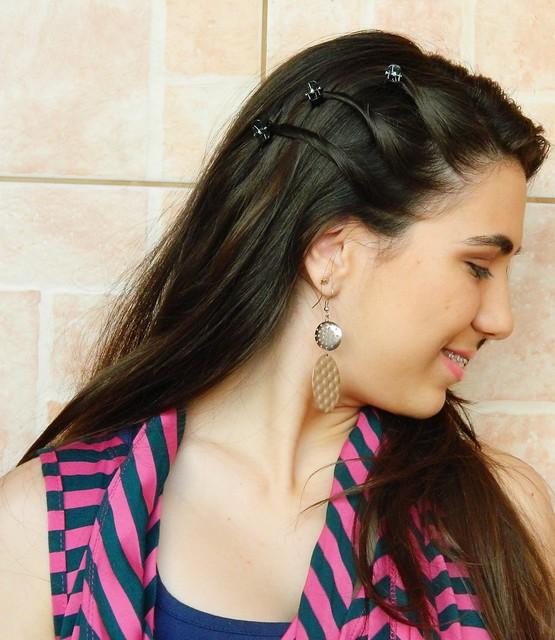 Juliana leite look faculdade escola maquiagem e penteado simples 008