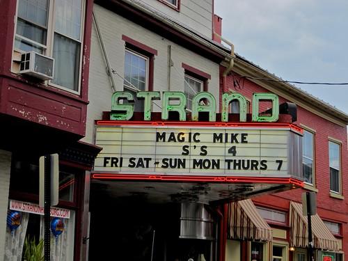 Strand Theatre Neon Marquee Hamburg PA