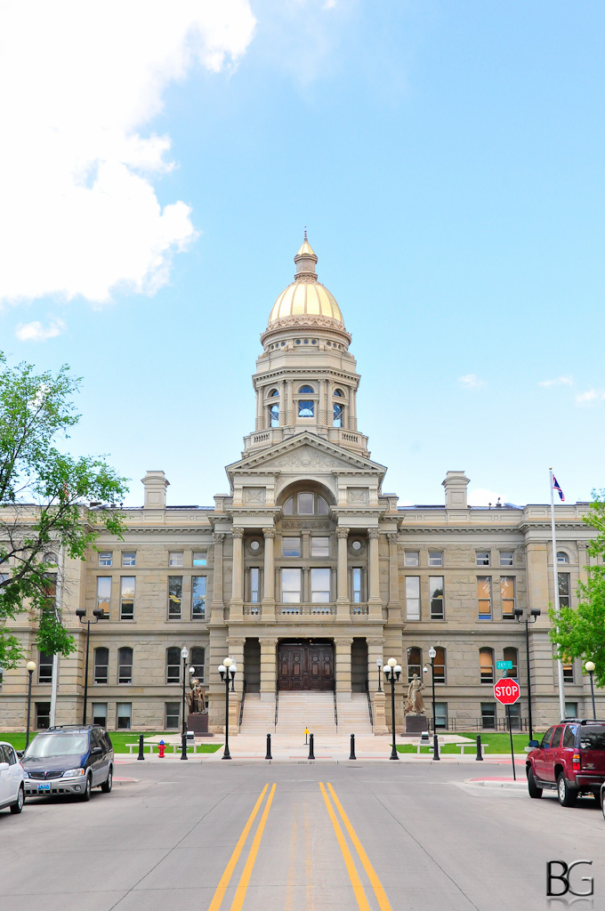 Wyoming Capitol Building | A picture of the Wyoming Capitol