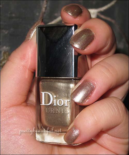 Dior Gold Nail Lacquer