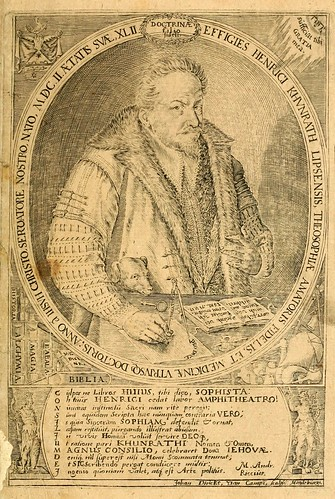 010- Portarretrato del autor-Amphitheatrvm sapientiae aeternae…-1609- Heinrich Khunrath