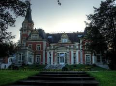 Pałac Pawłowice - Tył