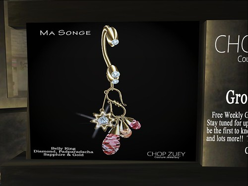 Ma Songe Gld Belly Ring by Cherokeeh Asteria