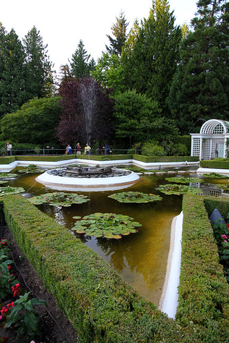 Butchart Gardens - Star Fountain