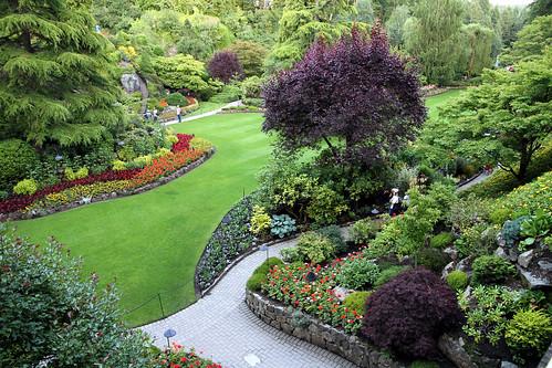 Butchart Gardens - Sunken Garden