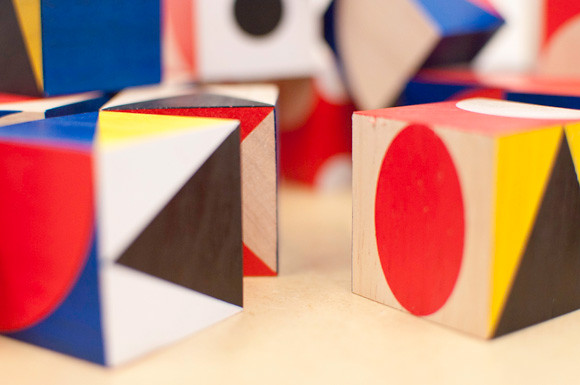 ShapeMaker wooden blocks at Poketo... fun!