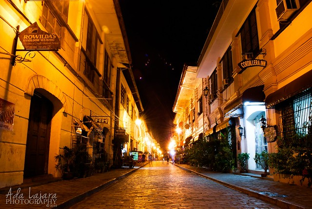 Calle Crisologo at Vigan Heritage Village