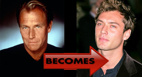 Corbin Bernsen and Jude Law