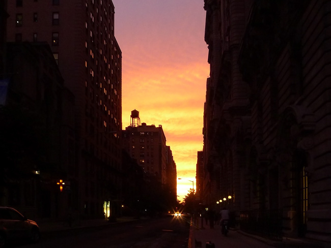 Sunset, uws
