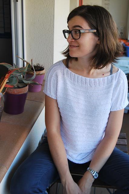 patrón camiseta verano