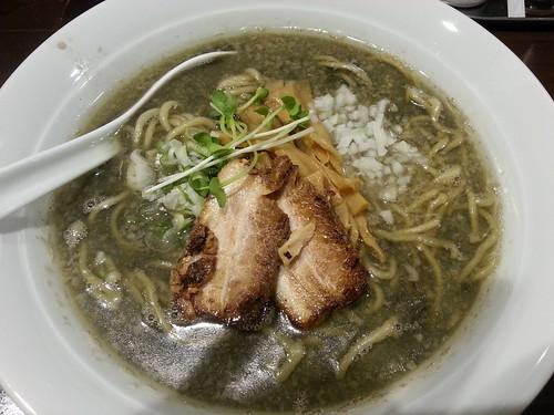 ra120805麺屋 航 目黒煮干ブラック 大盛