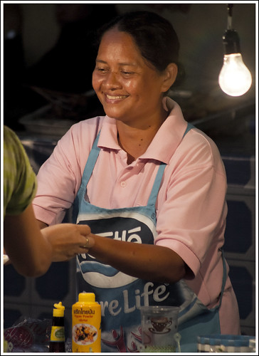 Food stall at Kathu Phuket Festival 2012