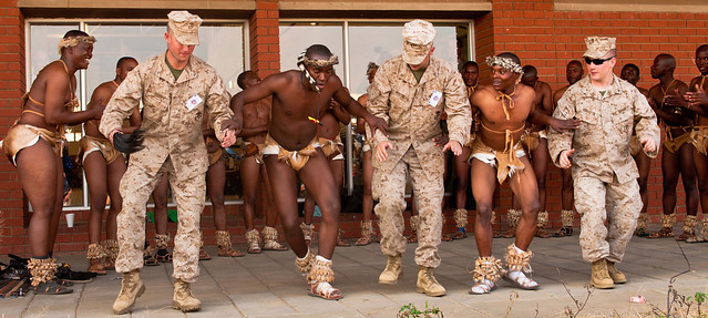 Southern Accord 2012 Forces Experience Cultural Day in Botswana