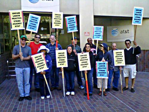 Cwa local 9410 members join ulp strike in san francisco