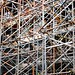 A tangle of scaffolding