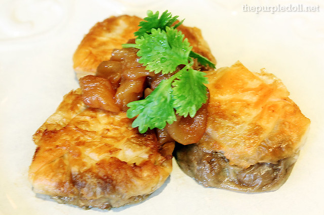 Filo Tarts with Pork Asado Apple Relish P220