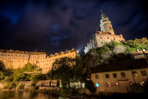 Night Falls on Český Castle
