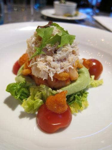 Tuttons - crab and prawn starter