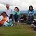 Gordon, Carmenza, Anna Maria and Karen Inglis on the summit of Knock Farrill.