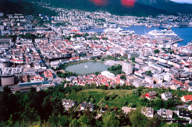 the lake, bergen