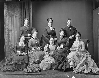 Harris family, Sydney, ca. 1877 / photographer Freeman &Co.