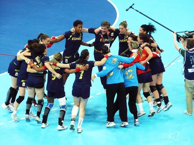 Bronze Medal Handball Match, Spain v Korea
