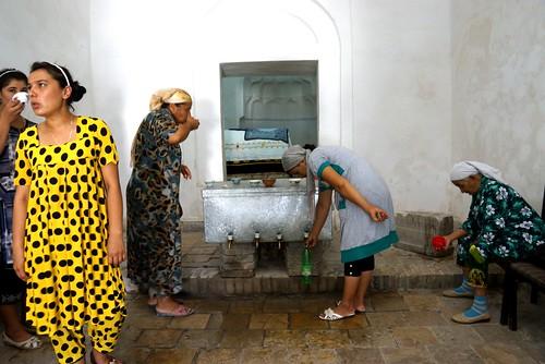 Portraits of Bukhara, Well of Job