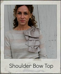 how to make shoulder bow top