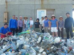 DSC03813 來自台灣各地及香港的志工乘風破浪至澎湖三級離島東嶼坪進行淨灘 及珊瑚礁體檢工作假期