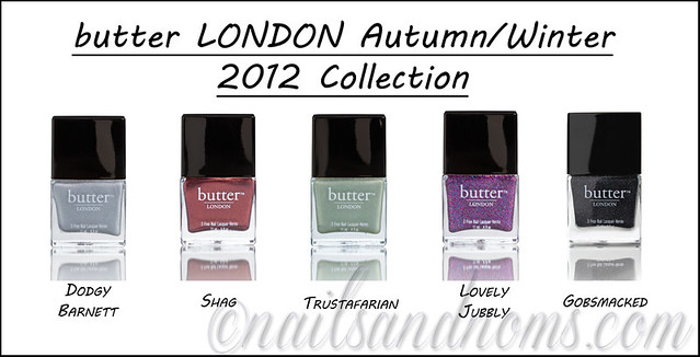 Butter London AutumnWinter 2012 Collection