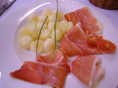 meal, salmon, sashimi, meat, prosciutto, produce, food, dish, cuisine, smoked salmon,