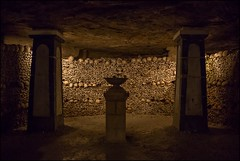 Les Catacombes de Paris. Paris. France